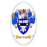 Van Baren Sticker (Oval 50 pk)
