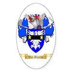 Van Baaren Sticker (Oval)