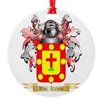 Van Kruys Round Ornament