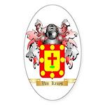 Van Kruys Sticker (Oval 50 pk)