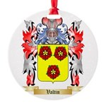 Valtin Round Ornament
