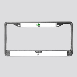 MOM AND BABY FROGS License Plate Frame