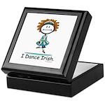 Dance Irish Stick Figure Keepsake Box