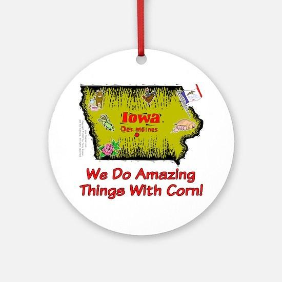 IA-Corn! Ornament (Round)