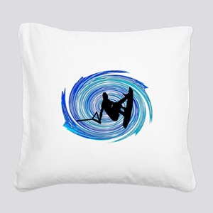 WAKEBOARD Square Canvas Pillow