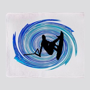WAKEBOARD Throw Blanket