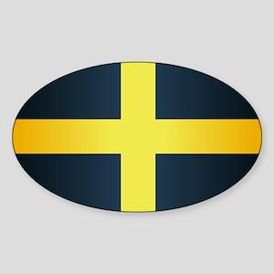 Flag of Saint David Of Wales Sticker
