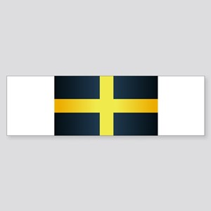 Flag of Saint David Of Wales Bumper Sticker