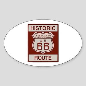 Joplin Route 66 Sticker