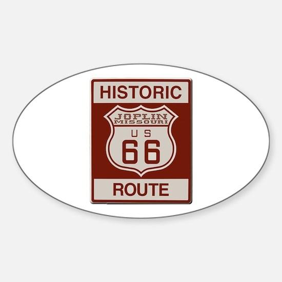 Joplin Route 66 Decal