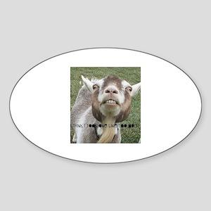 Highwired Goat Sticker