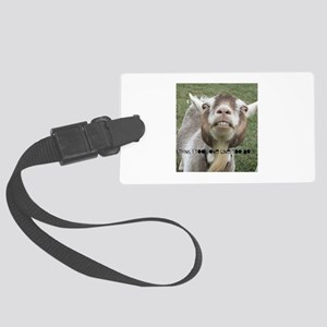 Highwired Goat Large Luggage Tag