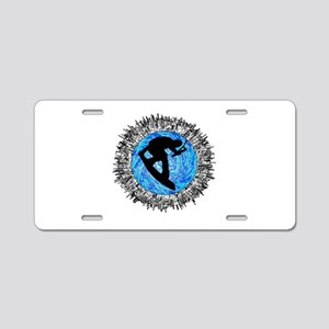 WAKEBOARDER Aluminum License Plate
