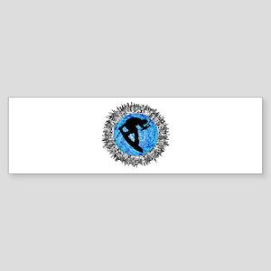WAKEBOARDER Bumper Sticker