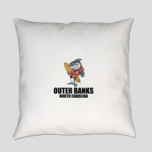 Outer Banks, North Carolina Everyday Pillow