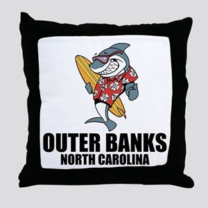 Outer Banks, North Carolina Throw Pillow