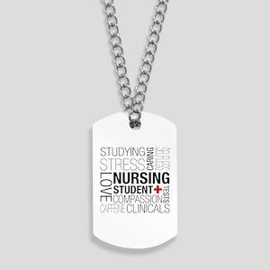 Nursing Student Box Dog Tags