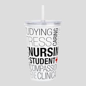 Nursing Student Box Acrylic Double-wall Tumbler