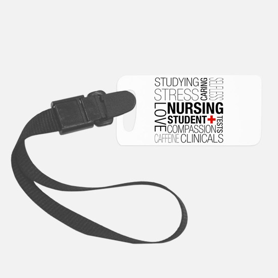 Nursing Student Box Luggage Tag