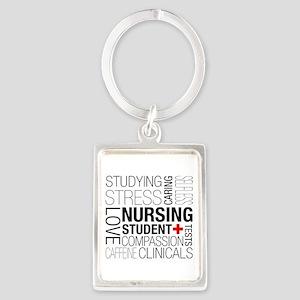 Nursing Student Box Keychains