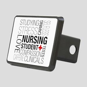 Nursing Student Box Rectangular Hitch Cover