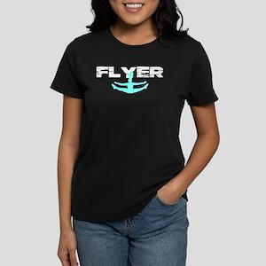 Blue Cheerleader Flyer T-Shirt