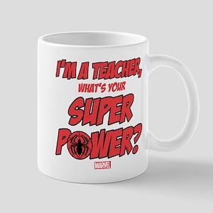 Spider-Man Teacher Mug