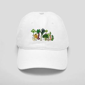 Funny cartoon vegetables Cap
