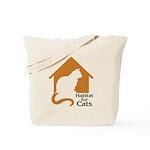 Habitat for Cats Tote Bag