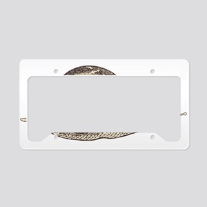 Hand painted animal snail License Plate Holder