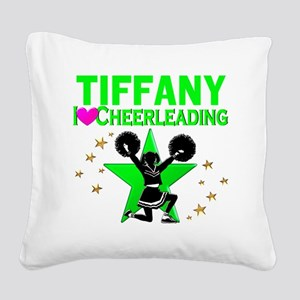 CUSTOM CHEERING Square Canvas Pillow