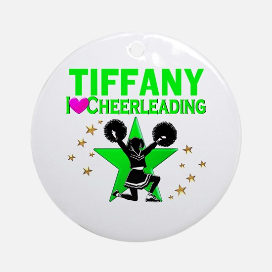 CUSTOM CHEERING Round Ornament