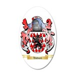 Valtieri 35x21 Oval Wall Decal