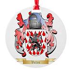 Valter Round Ornament