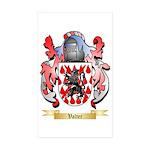 Valter Sticker (Rectangle 50 pk)