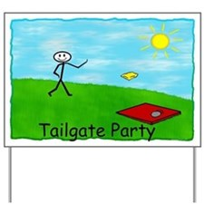 Tailgate Party Yard Sign