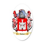 Vallier Oval Car Magnet