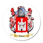 Vallier Round Car Magnet