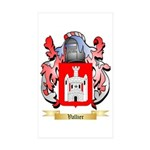 Vallier Sticker (Rectangle 50 pk)