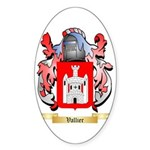 Vallier Sticker (Oval)