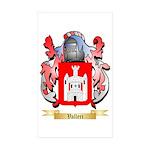 Valleri Sticker (Rectangle 50 pk)
