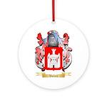 Valleri Round Ornament