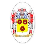 Vallentin Sticker (Oval 10 pk)