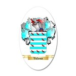 Vallence 20x12 Oval Wall Decal