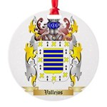 Vallejos Round Ornament