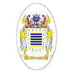 Vallejos Sticker (Oval 50 pk)