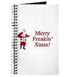 Merry Freakin' Xmas Journal