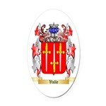 Valle Oval Car Magnet