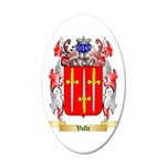 Valle 35x21 Oval Wall Decal