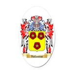 Vallantine Oval Car Magnet